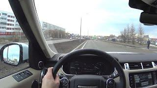2016 Land Rover Range Rover Sport HSE  POV Test Drive