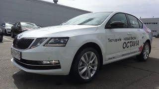 2017 ŠKODA OCTAVIA 1.4 TSI DSG Style. Start Up, Engine, and In Depth Tour.