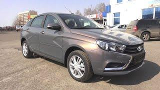 2017 Lada Vesta. Start Up, Engine, and In Depth Tour.