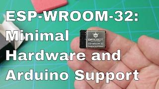 Arduino IDE + Minimal HW Setup for ESP-WROOM-32 | ESP32 from DFRobot.com