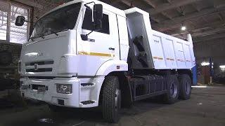 2017 KAMAZ-65115. Engine and In Depth Tour