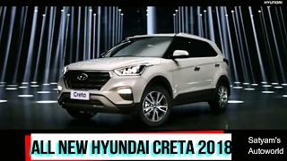 2018 HYUNDAI CRETA Official Trailer | Price,Features,Launch Details |