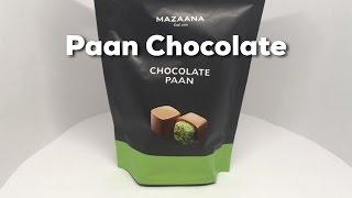 Mazaana Chocolate Paan