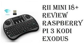 Rii i8+ Review - 2.4GHz Mini Wireless Keyboard with Touchpad, LED Backlit, Rechargable Battery