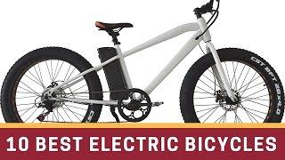 10 Best Electric Bicycles Review