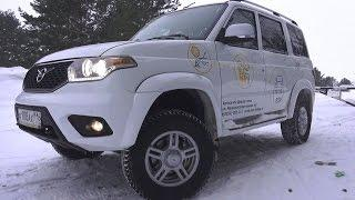 2017 UAZ Patriot (3163) 2.7 МТ. Start Up, Engine, and In Depth Tour.