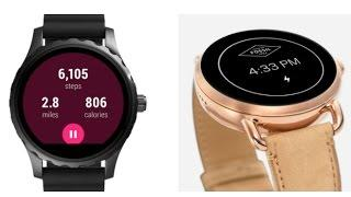Fossil Q Founder Touchscreen Stainless Steel Smartwatch