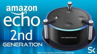 Echo Dot 2nd Generation Home Gadget, Amazon Echo Dot 2nd Generation Control Smart Home Devices