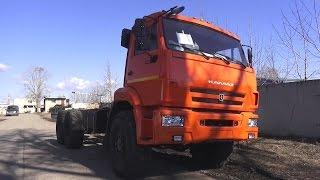 2017 KAMAZ-43118. Start Up, Engine, and In Depth Tour.