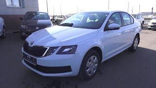 2017 Škoda Octavia 1.6 MPI MT Active. Start Up, Engine, and In Depth Tour.