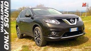 NEW NISSAN X-TRAIL 2017 - FIRST TEST DRIVE ONLY SOUND - VALLELUNGA CIRCUIT OFF ROAD
