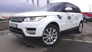 2016 Land Rover Range Rover Sport HSE Test Drive