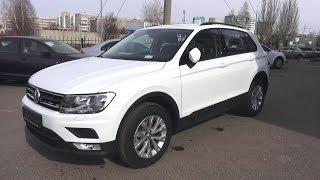 2017 Volkswagen Tiguan 1.4 TSI DSG Trendline. Start Up, Engine, and In Depth Tour.