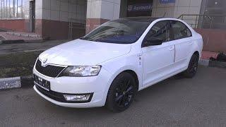 2017 Škoda Rapid Hockey Edition 1.6 MPI MT. Start Up, Engine, and In Depth Tour.