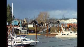 2016 Sundance Marina - Boat Warehouse Fire Daytime Aftermath  3/1/16 - Photo Slideshow