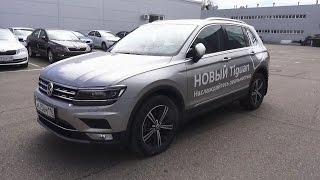 2017 Volkswagen Tiguan 2.0 TSI DSG 4Motion Highline. Start Up, Engine, and In Depth Tour.