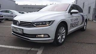 2017 Volkswagen Passat B8. Start Up, Engine, and In Depth Tour.