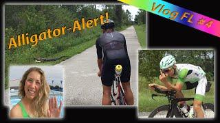 ALLIGATOR-ALARM | Tough Swim Session | 1st Bikeride | Vlog#4
