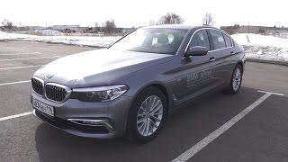 2017 BMW 520d xDrive G30. Start Up, Engine, and In Depth Tour.