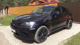 2012 BMW X6M (E71). Start Up, Engine, and In Depth Tour.