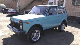 2000 VAZ-21213 LADA NIVA 4x4. Start Up, Engine, and In Depth Tour.