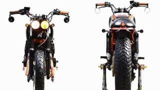 "CUSTOM BIKE WORLD - YAMAHA XJR400 ""TOMAHAWK"""