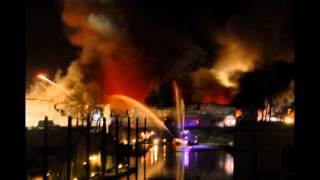 2016 Sundance Marina - Boat Warehouse Fire - Photo Slideshow - Portland, Oregon Hayden Island